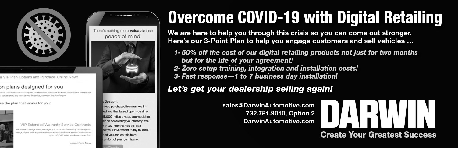 Darwin Automotive COVID-19 statement