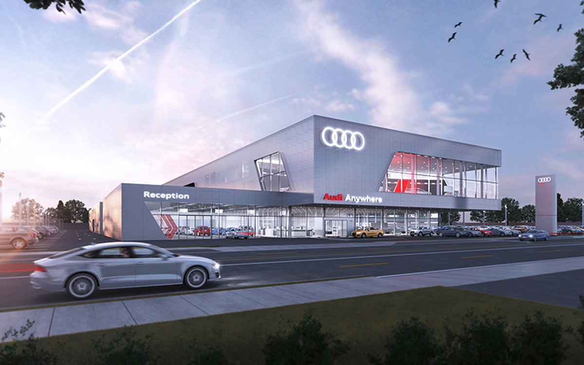 Audi of America Certifies Darwin Automotive