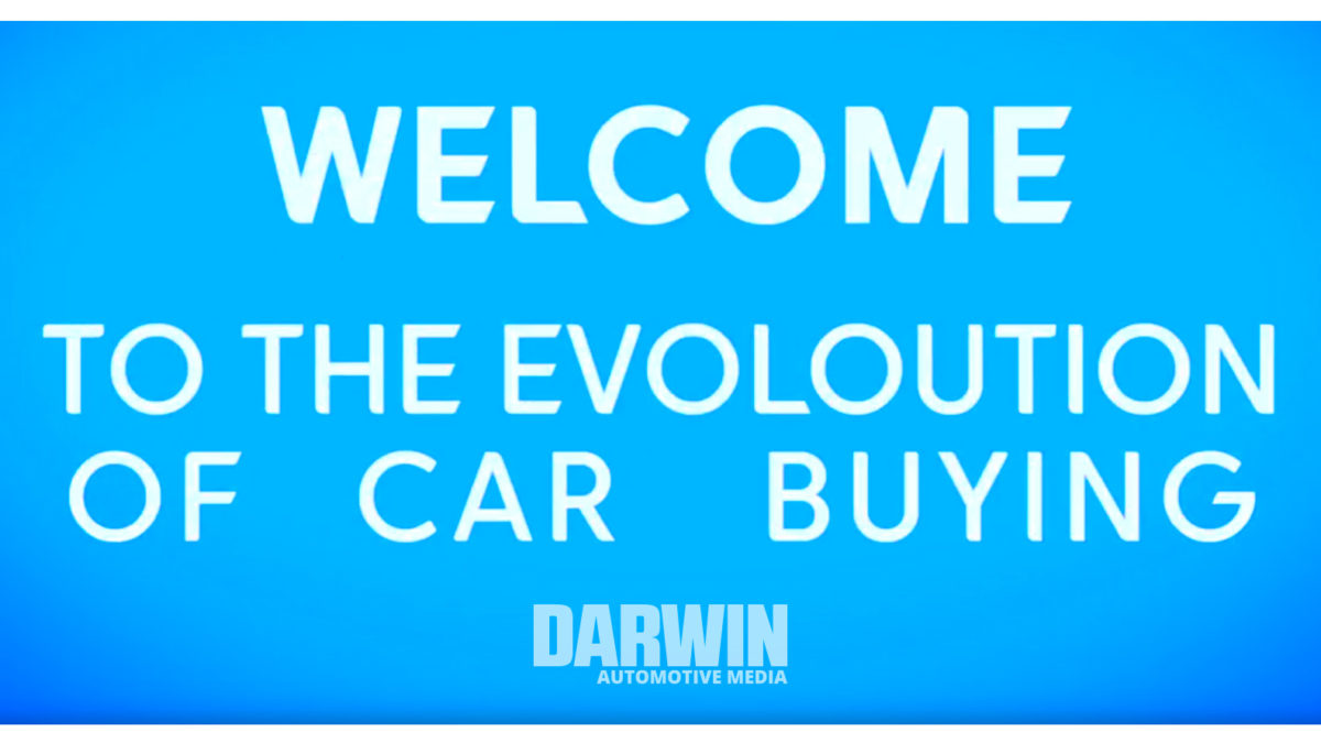 Darwin Automotive Digital Retailing - EVOLUTION OF CAR BUYING